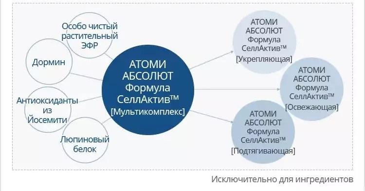 1 основная технология Формула Атоми Абсолют Селлактив